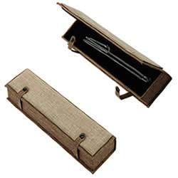 Linen Necklace Box