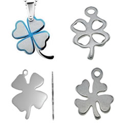Stainless Steel Clover Pendant
