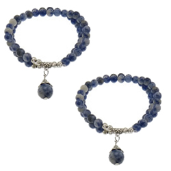Blue Spot Bracelet