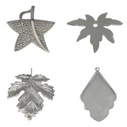 Stainless Steel Leaf Pendant