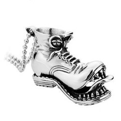 Stainless Steel Shoes Pendant
