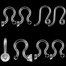 Plastic Earring Hook