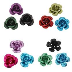 Aluminum Flower Beads