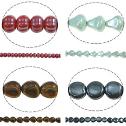 Glazed Porcelain Beads