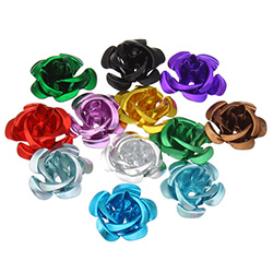 Aluminum Flower Beads