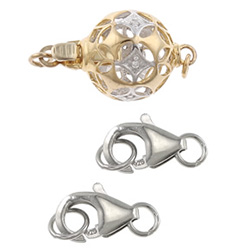 Sterling Silver Jewelry Clasps