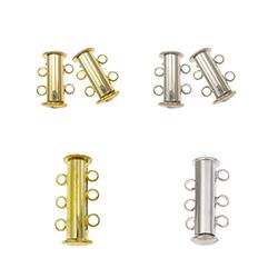 Brass Slide Lock Clasp