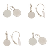 Iron Lever Back Earring Component