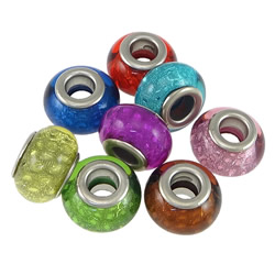 Plastic European Beads