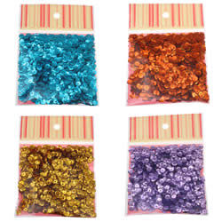 Plastic Sequin Beads