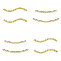 Gold Filled Tube Beads