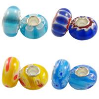 Millefiori Glass European Beads