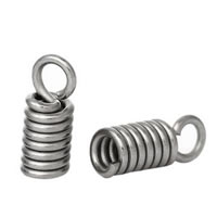 Sterling Silver Cord Coil