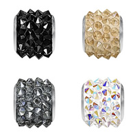 CRYSTALLIZED™ Elements #80901 BeCharmed Pavé Barrel Crystal Beads