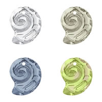 CRYSTALLIZED™ Elements #6731 Crystal Sea Snail Pendants