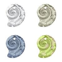 CRYSTALLIZED™ Elements #6731 Crystal Sea Snail Pendants