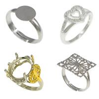 Brass Finger Ring Setting