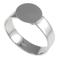 Sterling Silver Pad Ring Base