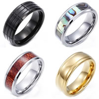 Tungsten Steel Finger Ring