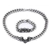 Titanium Steel Jewelry Set