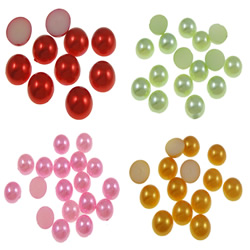 Plastic Jewelry Cabochons