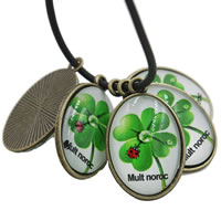 Decal Zinc Alloy Pendants