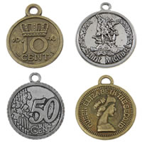 Zinc Alloy Commemorative Coin Pendant