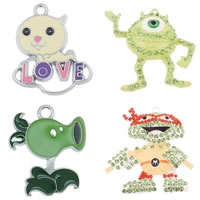 Zinc Alloy Cartoon Pendant