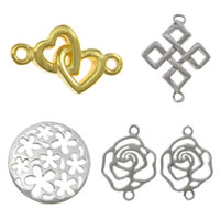 Sterling Silver Charm Connector
