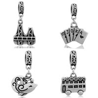 Stainless Steel European Pendants