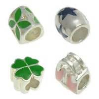 Enamel CCB Plastic Beads