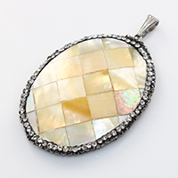 Yellow Shell Pendants