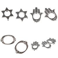 Zinc Alloy Frame Beads
