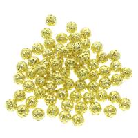 Hollow Brass Beads