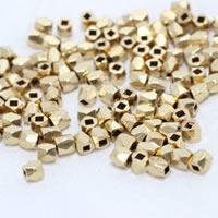 Brass Diamond Cut Beads