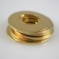 Brass Jewelry Washers