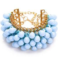 Zinc Alloy Resin Bracelets