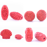 Cinnabar Beads