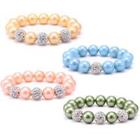 Glass Pearl Jewelry Bracelets
