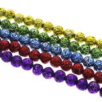 Multicolor Lava Beads