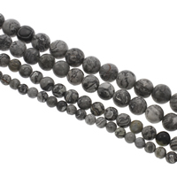 Jasper Picasso Beads