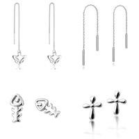 Sterling Silver Jewelry Earring