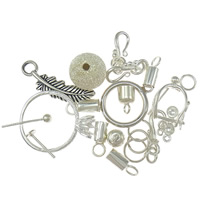 Sterling Silver Jewelry Findings
