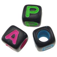 Plastic Alphabet Beads