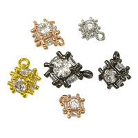 Cubic Zirconia Brass Pendants