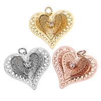 Brass Heart Pendants