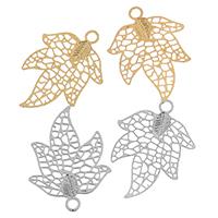 Brass Leaf Pendants