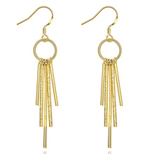 Brass Dangle Earring