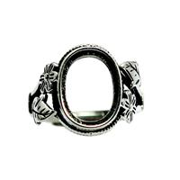 Thailand Sterling Silver Bezel Ring Base