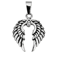 Stainless Steel Wing Shape Pendant